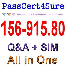 Check Point CCSE Update R80 156-915.80 Exam Q&A PDF+SIM