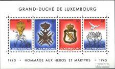 Luxemburg Blok 14 postfris 1985 Vuren