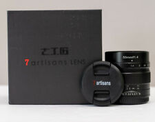 7Artisans 55mm f1.4 Lens for Micro Four Thirds