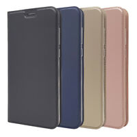 Ultra-thin Wallet Leather Flip Case Cover For Huawei P30 Lite Y7 2019 P Smart Z