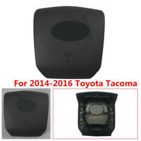 High Quality Durable Black Driver Steering Wheel Cover For 14-16 Toyota Tacoma