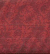 Compose red brick floral David fabric