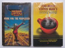 Too Much Coffee Man's Amusing Musings Guide Perplex NEW Graphic Novel Comic Book
