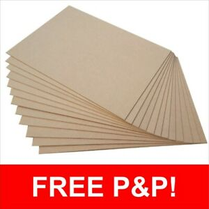 600 x 300mm MDF Boards Sheets 3mm or 6mm Thick Laser Cutting or Pyrography