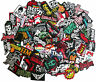 Random 50 Iron On Patch Embroidered Sew Rock Band Heavy Metal Logo Music Lot