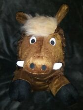 *NEW* Patchwork Premium 14' Swirl The Warthog 🐗 Grunting/Squeaky Toy For Dogs