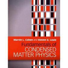 Fundamentals Condensed Matter Physics Marvin L. Cohen Steven G. L. 9780521513319