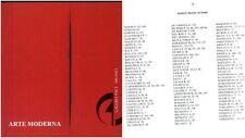 asta 16 galleria Pace novembre 1989 - Arte moderna (indice in foto)