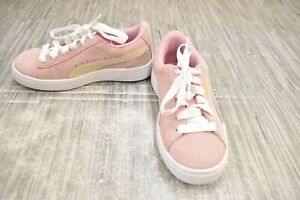 PUMA Suede Classic 360757 Sneakers, Little Girls Size 13M, Pink NEW