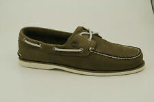 Timberland Classic Boat 2-Eye Size 41 US 7,5 Deck Shoes Men Boat Shoes A23BQ