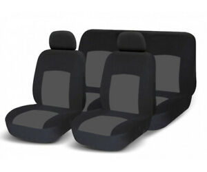 Traspirante per Tutti i Tipi di Veicoli Coprisedile per Auto per Massaggi in Vita in bamb/ù per Sedia da Ufficio sedili Auto FOCCTS