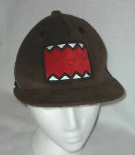 DOMO Brown Baseball Cap Hat Plush Fleecy Comic Japanese Anime Animation