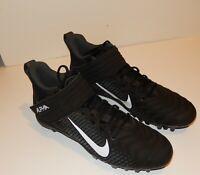 Nike Alpha Menace Football Cleats Men's Size 10 AQ8154-001 Excellent Condition