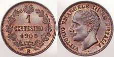 1 CENTESIMO 1905 R REGNO D'ITALIA VITTORIO EMANUELE III Fdc #7764