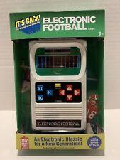 Mattel Basic Fun Handheld Electronic Football Game Retro New Unopened