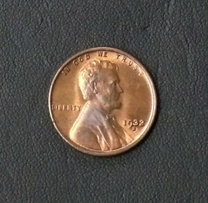 1932-D CHBU SCARCE SEMI KEY DATE - LINCOLN ONE CENT PIECE  - SEE PICTURES