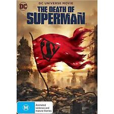THE DEATH OF SUPERMAN DVD, NEW & SEALED, 2018 RELEASE, REGION 4, FREE POST