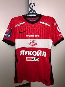 Match worn shirt Spartak Moscow Russia jersey size M, season 2020/2021