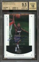 2002-03 sp authentic #151 CARON BUTLER AU rookie BGS 9.5 (9 9.5 9.5 9.5) auto 10