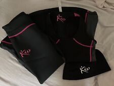 Kutting Weight Heat Generating Neoprene Womens Suit  Size Small