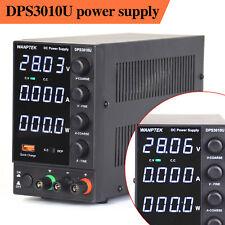 Dc Power Supply Variable Lab 4 Digital Led Display 0 30v Adjustable 300w 0 10a
