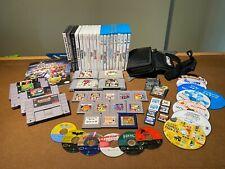 Huge 62 Game Nintendo Lot! SNES, Gamecube, Gameboy, N64, Wii, Wii U, DS, 3DS,
