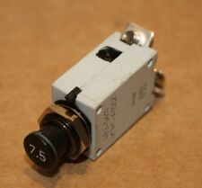 ETA (E.T.A)Series.483 7.5A Circuit Breaker 483-G411-K1M1-A1SOZ Plated Nut