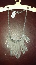 urban outfitters necklace boho silver