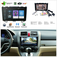 9'' 4-Core 1GB+16GB Android 9.1 Car Stereo Radio GPS Player For Honda CRV 06-11