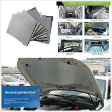 10*Universal 5mm 30*50cm Car SUV Door Hood Floors Trunk Sound Deadener Foam Mats