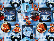 FAT QUARTER FABRIC ET the EXTRA TERRESTRIAL UNIVERSAL STUDIOS  COTTON SCENIC  FQ