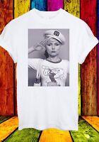 Debbie Harry Blondie Singer Rock Pop Disco Music Men Women Unisex T-shirt 15