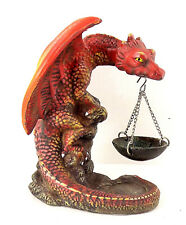 Dragon Hanging Basket Cone Incence Burner home office decor collectible gift