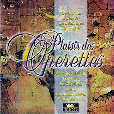 PLAISIR DES OPERETTES : DER BETTELSTUDENT - DER GRAF VON LUXEMBURG / 2 CD-SET