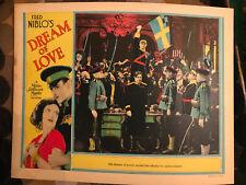 Dream Of Love 1928 MGM silent lobby card Joan Crawford Nils Asthur