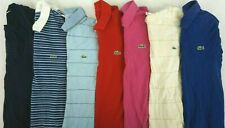 LACOSTE Lot of 7 Men's Short Sleeve Cotton Polo Shirts Size 4 / US M