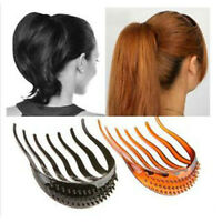 High Quality Useful Volume Inserts Hair Clip Bumpits Bouffant Ponytail Hair Comb