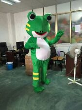 Frog Mascot Costume Suit Animal Dress Cosplay Party Game Adult Outfits Halloween