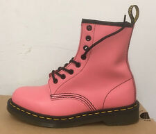 DR. MARTENS 1460  ACID PINK SMOOTH    LEATHER  BOOTS SIZE UK 6
