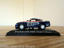 Porsche 959 - Paris-Dakar 1986 - R.Metge - D.Lemoyne - 1/43 scale model