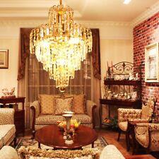 Chandelier Ceiling Pendant Light Modern Elegant Crystal Lamp Fixture lighting