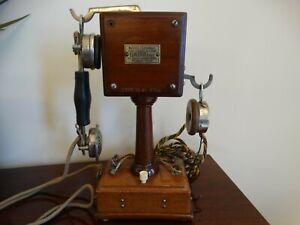 Original Grammont system Eurieult Paris desk phone France Hygienophone Paris