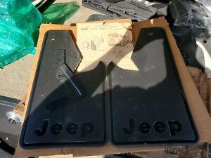 Jeep Cherokee / Wagoneer Rear Slash Guards Mud Flaps OEM / NOS