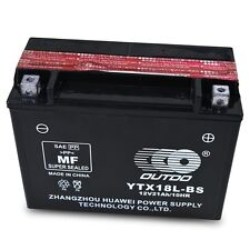YTX18L-BS Battery for 86-99 Y50-N18L-A Yamaha XV1100 Virago XS1100 Venture QQL