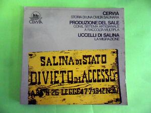 CERVIA STORIA DI UNA CIVILTA' SALINARA PRODUZIONE DEL SALE. GRAFIS 1980