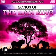 Songs from The Lion King accompaniment CD [Karaoke]