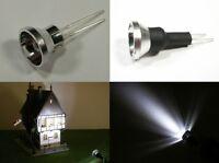 S063 - 4 Stück LED Flutlichtstrahler Bau- Fassadenstrahler Scheinwerfer weiß