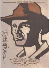 "Indiana Jones Masterpieces - Randy Martinez ""Indy"" Sketch Card"