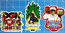 DGK STICKER PACK #25  ***KIT OUT THE BEER FRIDGE!***