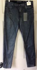 Calvin Klein Jeans Womens Brushed Gunmetal Ultimate Skinny Jeans Size 32 NWT $98